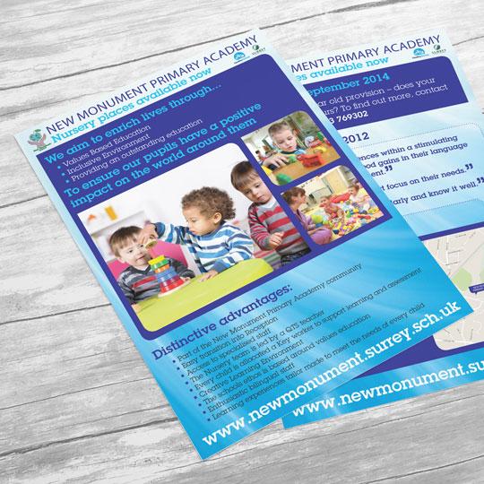 nursery flyer